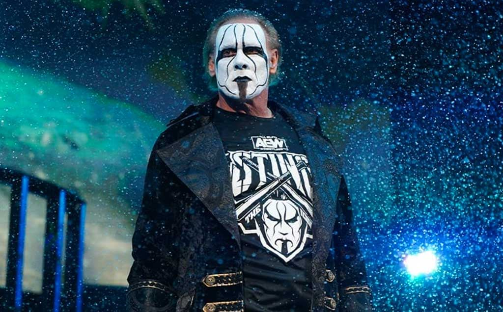 Sting in AEW