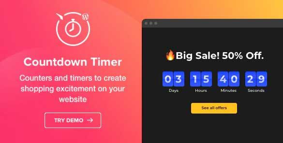 Plugin countdown per WordPress