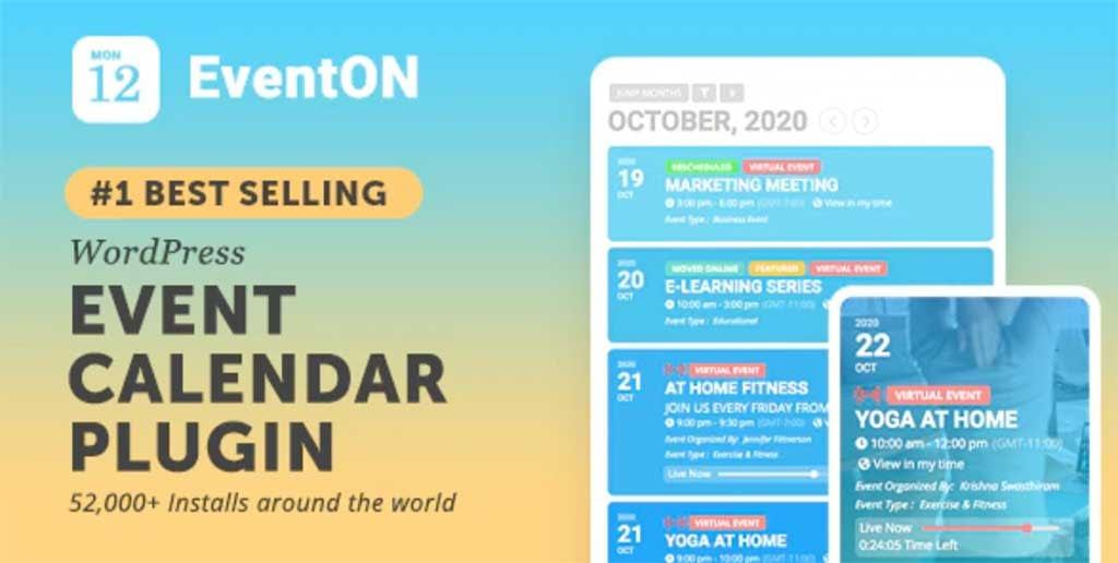 Il miglior plugin WordPress per l'organizzazione di eventi online