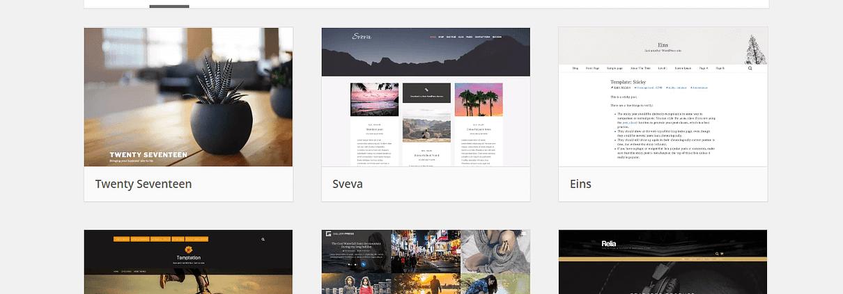 Il miglior tema Wordpress